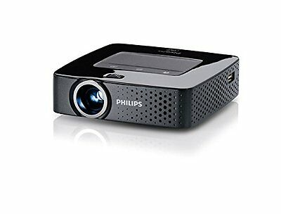 PHILIPS PPX3614 Wireless Multi Media Pocket Projector with WiFi-140 Lumen / NEW