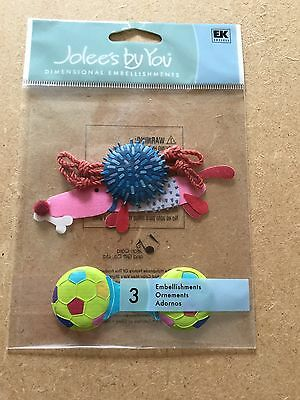 JOLEES BY YOU STICKERS.  Dog Toys.