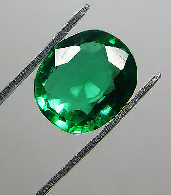 Certified 5.30 Ct. Natural Oval shape Colombian Loose Emerald Gemstone.566