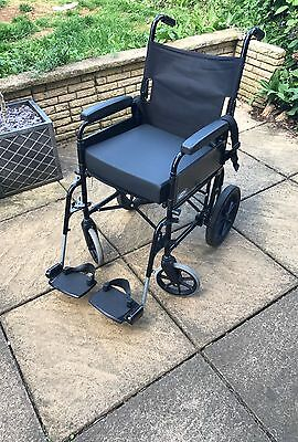 Lomax uni 9 wheelchair lightweight