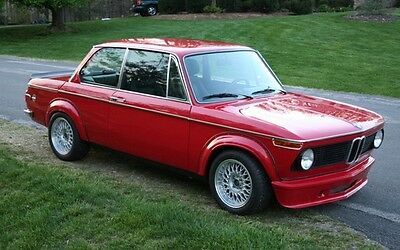 Bmw 2002 02 1802 1602 Series Tii Turbo Kit Fender Flares Wheel Arch Extensions