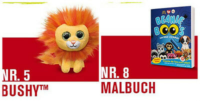 "Mc Donalds Spielzeug Happy Meal ""BEANIE BOOS"" alle 8 St."