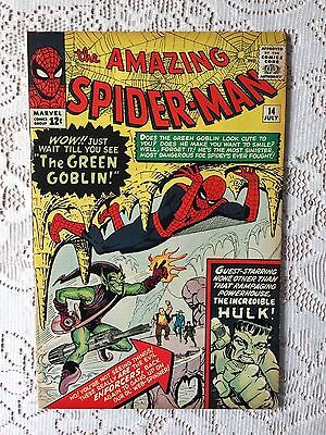 Marvel Comics Amazing Spiderman #14 1964 FN+