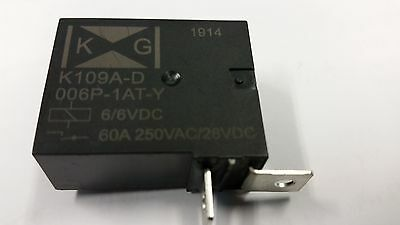 KG Technologies: K109A-D006P-1AT-Y, Relay, K850, 60A, 6V Latching, ROHS, New