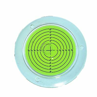 100mm Bull Eye Level Spirit Bubble Orbit Surface 0 - 6 degree Levelling Area