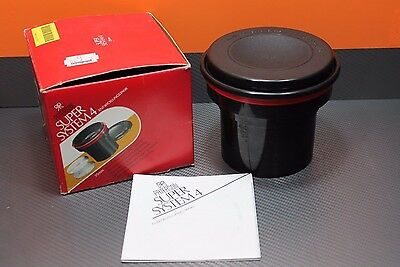 Paterson Super System 4  35mm Film Developing Tank with Instructions & Box