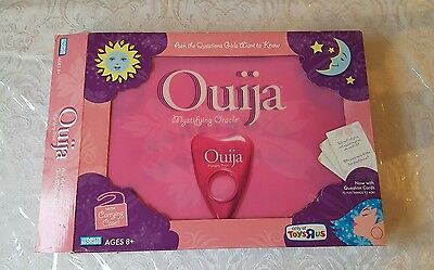 NIB Parker Brothers 2008 Ouija Board Mystifying Oracle with Travel Case RARE