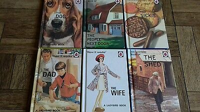 Ladybird Books for Grown Ups - Collection of 6 Books