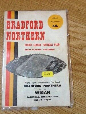 Bradford Northern Rugby league programme