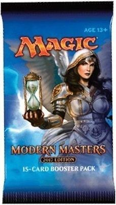 MTG Modern Masters 2017 Booster Pack New Sealed Magic the Gathering No Reserve!