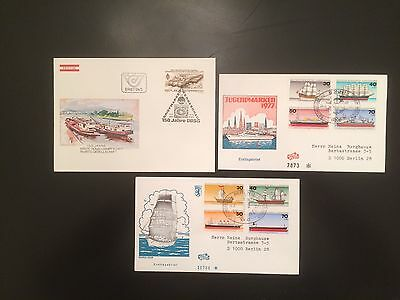 Topical FDC's Ships