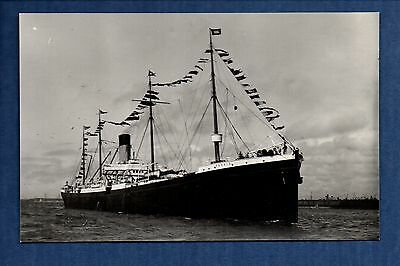 White Star Line - Persic (1899) - photograph postcard size