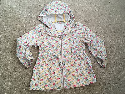 Girls NEXT Floral Cagoule Jacket. Age 5 Years