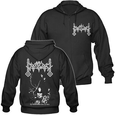 Moonblood - The Winter halls over the Land - Hooded Zipper / Kapuzenjacke
