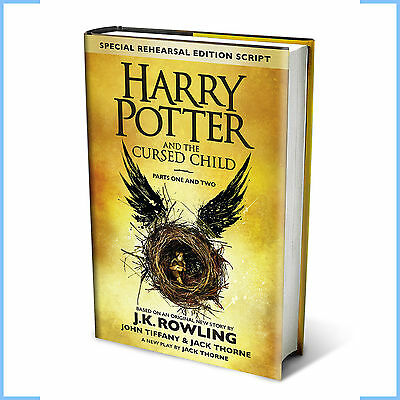 Harry Potter and the Cursed Child Parts 1 and 2 J.K. Rowling Book Hardback NEW