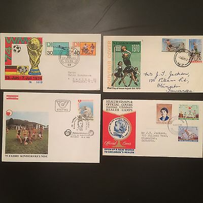 Topical FDC's Sports