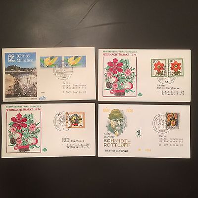 Topical FDC's Flowers