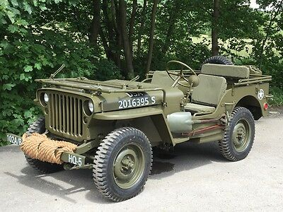 1942 ford gpw Willys jeep scripted