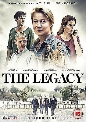 The Legacy Season 3 DVD - Freepost - Region 2 UK - Brand New