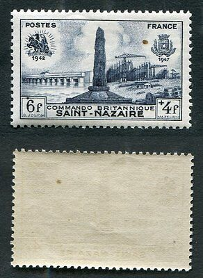 Timbre FRANCE neuf TB** YT n° 786 : Monument à St-Nazaire - 1947