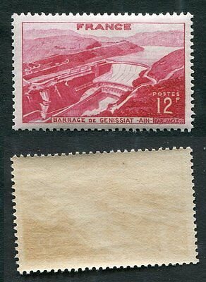 Timbre FRANCE neuf TB** YT n° 817 : Barrage de GENISSIAT - 1948