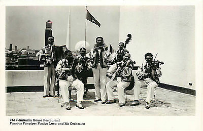Romanian Restaurant Orchestra, Rppc, Ny Worlds Fair 1939, Vintage Postcard