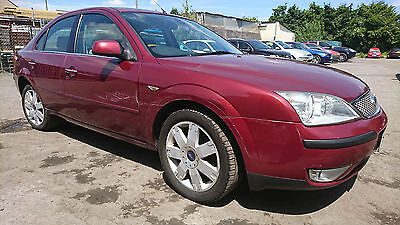 2003 Ford Mondeo 2.0 Ghia, Top Spec, 0.99p , No reserve,  spares repairs