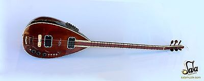 Special Long Neck Wenge Electric Electro Baglama Saz SES-205