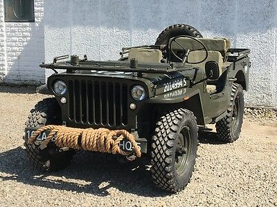 1943 ford GPW Willys jeep