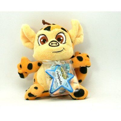 Neopets Spotted Mynci Series 4 Plush nw tag & unused KeyQuest Virtual Prize code