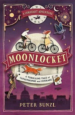 Moonlocket (The Cogheart Adventures #2) by Peter Bunzl New Paperback Book