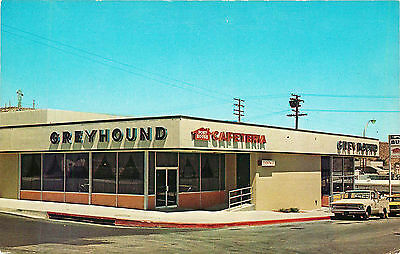 Greyhound Post House, Location Not Known, Vintage Postcard