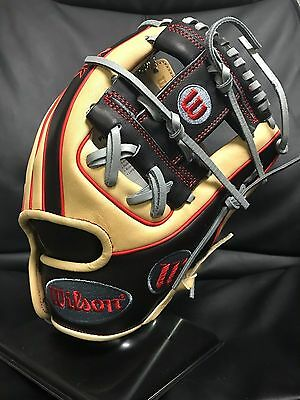 "Wilson A2K DP15 LE 11.5"" Baseball Glove with Snow Globe - Right Handed Throw"