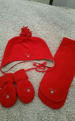 boys hat scarf and gloves