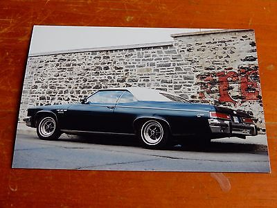Photo 1975 Buick Lesabre Convertible In Montreal Qc In 1999 - Retro 70S