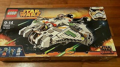 Lego Star Wars Rebels 75053 The Ghost Retired Set
