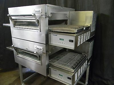 Lincoln Impinger Conveyor Double Stack Pizza Gas Oven 1116 **we Offer Financing*