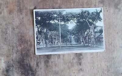 View of Shameen, Canton -  Org Postcard c1920 vgc