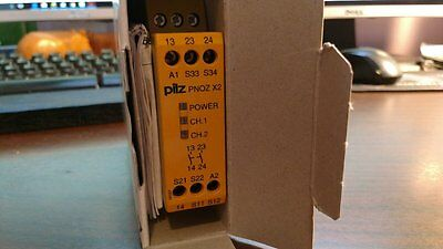 PILZ PNOZ X2 24VACDC 2S Safety Relay **NEW** UIC p/n 143544