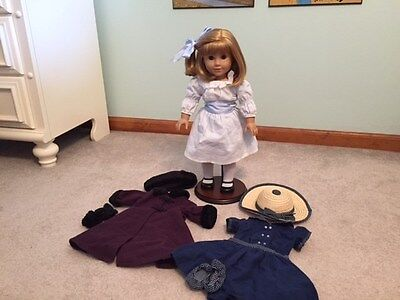 American Girl Nellie O'Malley RETIRED plus winter coat and additional outfit