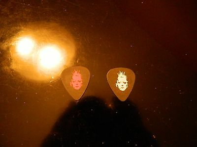 Marilyn Manson Tim Skold 2007 Eat Me Drink Me Tour Picks Red and White VERY RARE