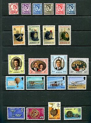 Jersey, 15 Complete Sets, Mnh (Id6270)