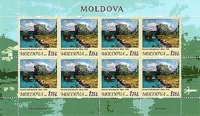 Moldova stamps! Art, Paintings, Rocks, MNH, 2015, 8v