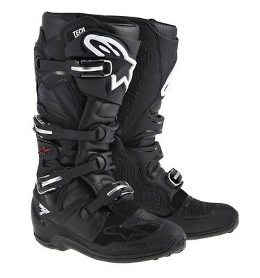 Alpinestar Tech 7 Motocross Mx Boots Adult Black