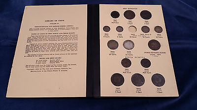 NEARLY COMPLETE Library of Coins British North America Vol. 68 *WITH KEY DATES*