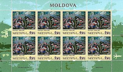Moldova stamps! Art, Paintings, Landscape, MNH, 2015, 8v