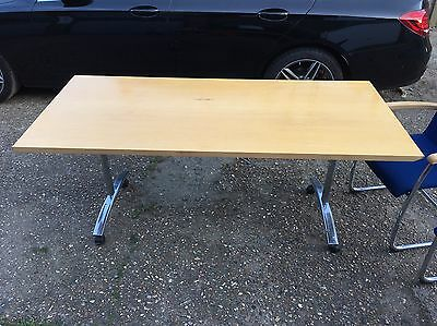 Boardroom Folding Table and 4 chairs. Office Or Home