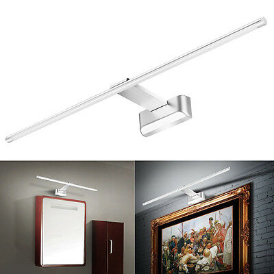 9W White 48 SMD 2835 LED Mirror Light Picture Wall Front Lighting Bathroom Lamp