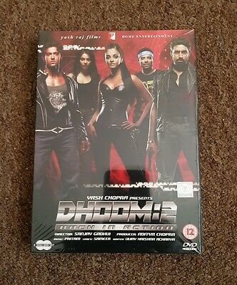 Dhoom 2 (Bollywood dvd gift box  set 2 disc) New & Sealed
