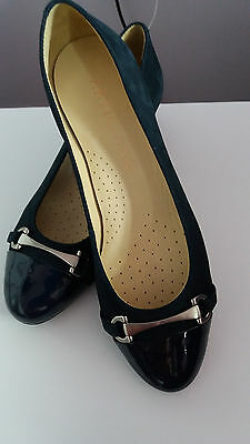 Artigiano New Lovely Padded Heel Leather Womens Shoes size 4 (37)